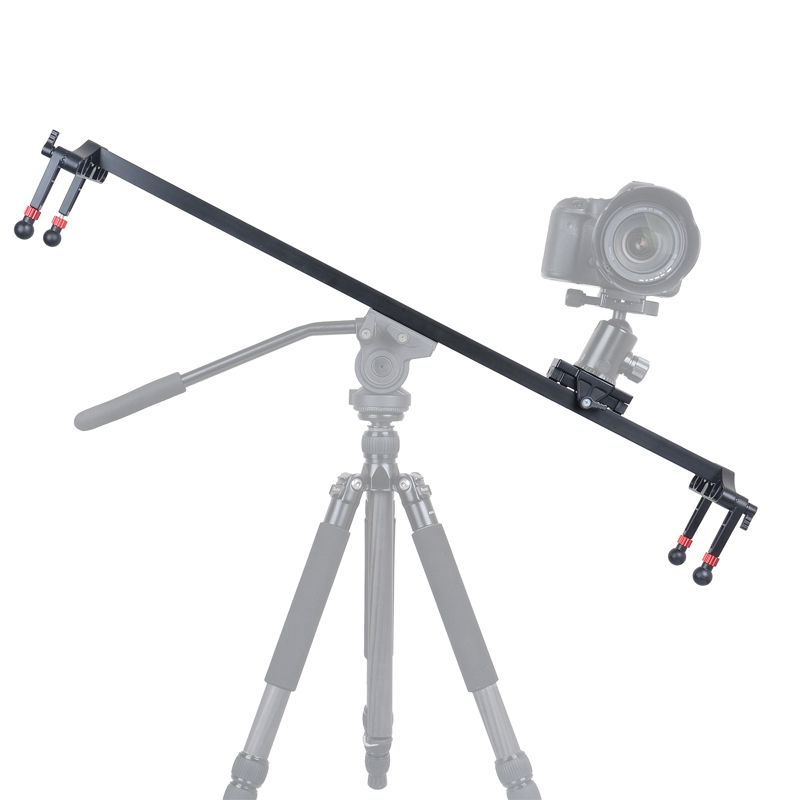 KINGJOY VM-100000 mm Μήκος Αλουμίνιο Φορητό Κάμερα Rail Slider with Smooth Movement for Photo and Video